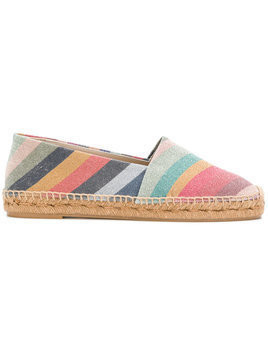 Paul Smith - striped espadrilles - Damen - Cotton/Leather/Polyester/rubber - 38 - Multicolour