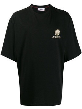 Gcds oversized logo T-shirt - Black