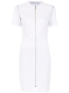 Gloria Coelho zipped dress - White