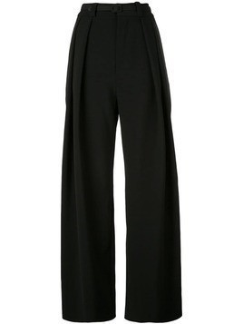 Carmen March high waisted trousers - Black