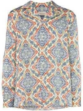 Bed J.W. Ford paisley print long sleeved shirt - Multicolour