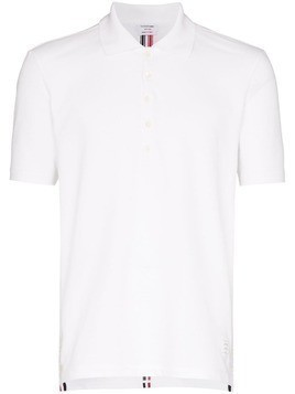 Thom Browne relaxed polo shirt - White