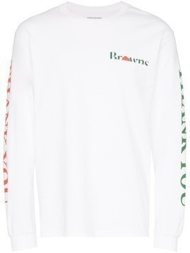 Chinatown Market X Browns Thank You print T-shirt - White