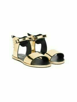 BabyWalker metallic-tone open-toe sandals - GOLD