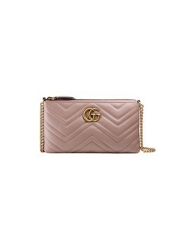 Gucci GG Marmont mini chain bag - Nude&Neutrals