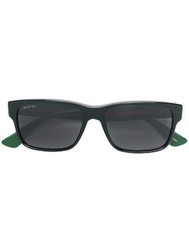 Gucci Eyewear square frame sunglasses - Green