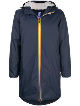 K-Way Le Vrai 3.0 Eiffel coat - Blue