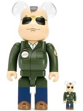 Medicom Toy pilot collectible toy - Green