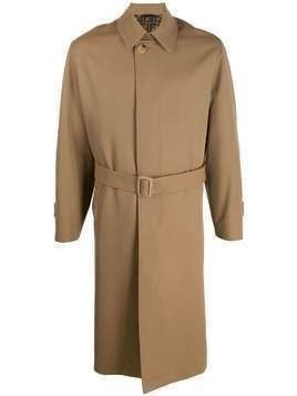 Fendi belted trench coat - NEUTRALS