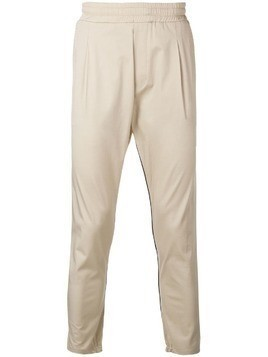 Low Brand Lowbrand x Houseofc slim-fit track pants - Neutrals