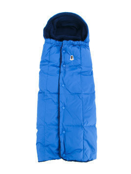 Miki House fleece-lined padded nest - Blue