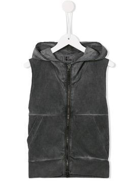 Lost And Found Kids zipped vest - Grey