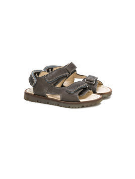 Montelpare Tradition touch strap sandals - Grey