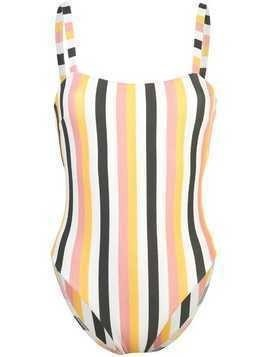 Asceno striped swimsuit - Yellow