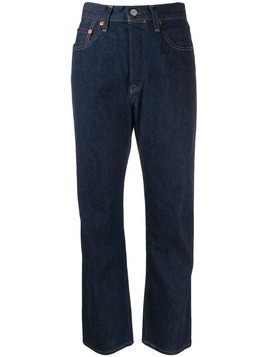 Levi's: Made & Crafted straight leg jeans - Blue