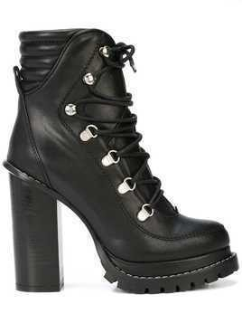 Barbara Bui lace-up boots - Black