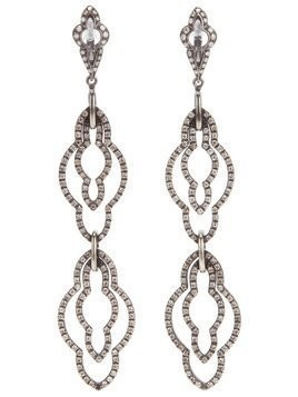 Loree Rodkin drop diamond earrings - Metallic