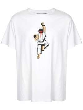 Mostly Heard Rarely Seen 8-Bit Warrior T-shirt - White