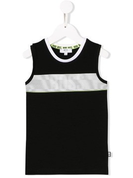 Boss Kids logo vest - Black