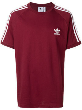 Adidas classic 3-stripes T-shirt - Red
