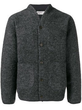 Universal Works buttoned cardigan - Grey