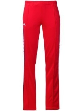 Kappa contrast logo track pants - Red
