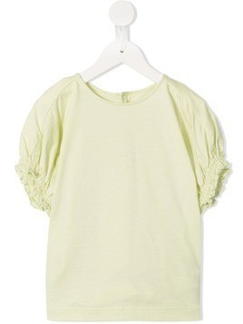 Fith smocked sleeve T-shirt - Green
