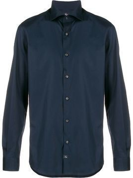 Fay slim fit shirt - Blue