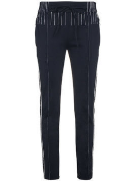 Valentino Track pants with contrasting stitch - Blue