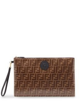 Fendi large FFreedom pouch - Brown