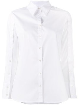 Creatures Of The Wind buttoned sleeve shirt - White