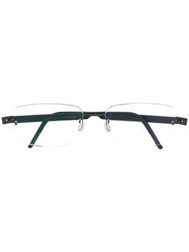 Lindberg rectangular frame optical glasses - Grey