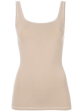 Theory scoop neck vest - Nude & Neutrals