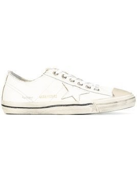 Golden Goose Deluxe Brand - 'V-Star 2' sneakers - Herren - Cotton/Calf Leather/Leather/rubber - 40 - White