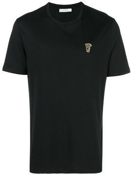Versace Collection chest logo T-shirt - Black