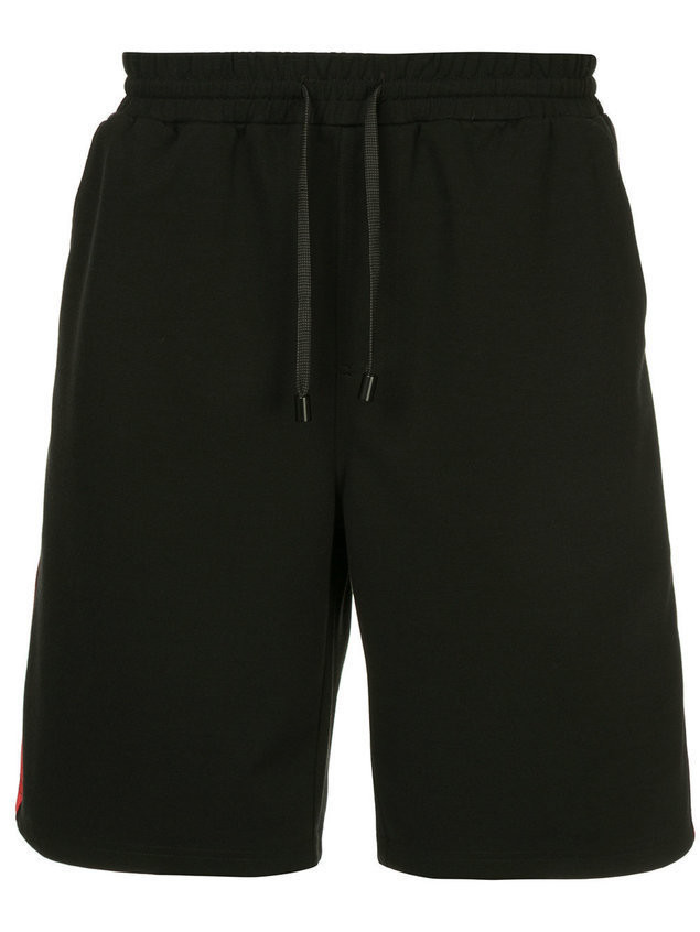 The Upside side panel track shorts - Black