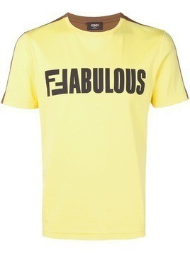 Fendi FFabulous T-shirt - Yellow