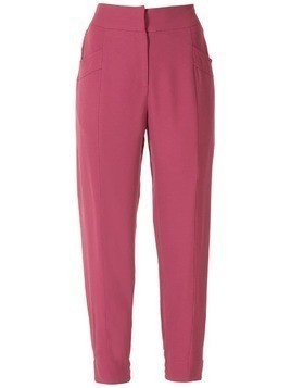 Martha Medeiros Manuela slim trousers - Red