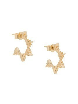 Meadowlark Maiden hoop earrings - Gold