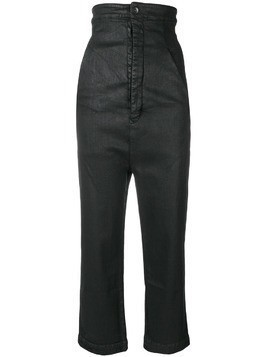 Rick Owens DRKSHDW super high waisted trousers - Black