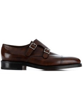 John Lobb Willian monk shoes - Brown