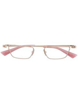 Christian Roth geometric glasses - Pink