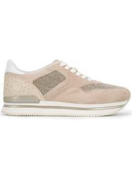 Hogan panelled sneakers - Neutrals