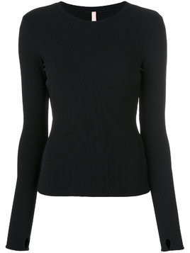 No Ka' Oi crew neck sweatshirt - Black