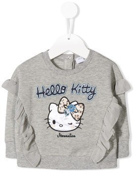 Monnalisa Hello Kitty sweatshirt - Grey