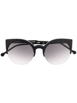 Retrosuperfuture cat eye frame sunglasses - Black
