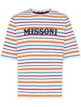 Missoni striped T-shirt - S0101 Multicoloured