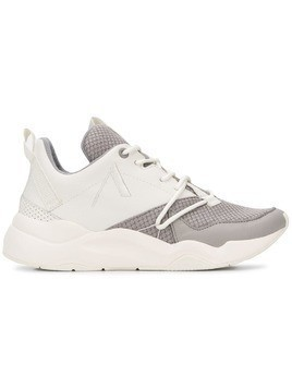 Arkk colour block sneakers - White