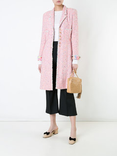 Chanel Vintage tweed coat - Pink&Purple