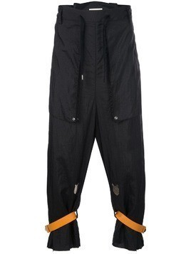 Bed J.W. Ford drop crotch trousers - Black